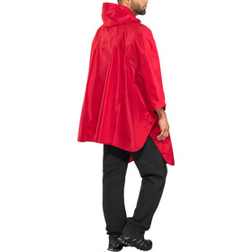 AGU Grant Poncho, burgundy red